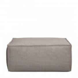 The Jagger Hocker, washed cotton, stone Riviera Maison 4226001