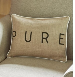 Pure Suede Pillow Cover 40x30 Riviera Maison 366650