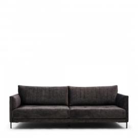 Bal Harbour Sofa 3,5 Seater, velvet, grimaldi grey Riviera Maison 5104007