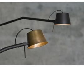 Pliz wandlamp Mat zwart Frezoli