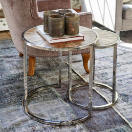 Greenwich End Table Set van 2 Riviera Maison  377410