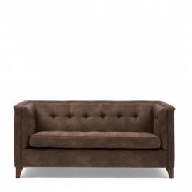 Radziwill Sofa 2 Seater, pellini, coffee Riviera Maison 4418002
