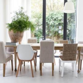 Cape Breton Dining Chair, linen, flax Riviera Maison 3364006