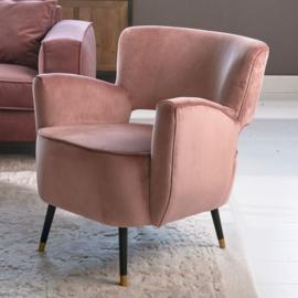Laurel Armchair, velvet III, rose stain Riviera Maison
