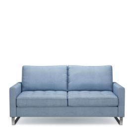 West Houston Sofa 2,5 seater, washed cotton, ice blue Riviera Maison 3908008
