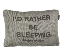Rivièra Maison Sleep Tight cushion Grey 30 x 40 cm