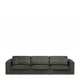 Metropolis Sofa XL, velvet, shadow Riviera Maison 4032004