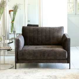 Bal Harbour Love Seat Mud Riviera Maison 5295004