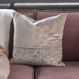 Embroidered Pillow Cover 50x50 Riviera Maison 463870