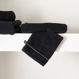 RM Elegant black Washcloth Riviera Maison 466910