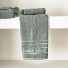 RM Elegant moss Towel 100x50 Riviera Maison 466980