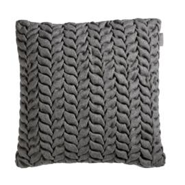 RM Chubby Cushion Grey 43 x 43 cm kussen Riviera Maison (incl vulling) 176248