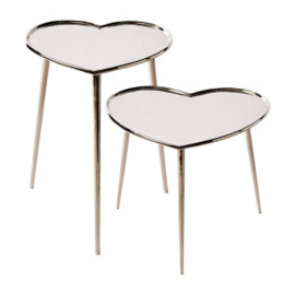 Lovely Heart End Table S2 Riviera Maison 427660