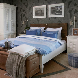 Driftwood Double Bed Riviera Maison 258010