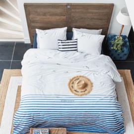 Riviera Maison dekbedovertrek Seagull Blue 200x200/220