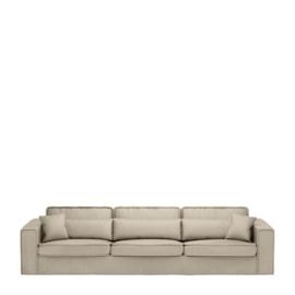 Metropolis Sofa XL, velvet, pearl Riviera Maison 4032002