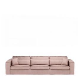 Metropolis Sofa XL, velvet, blossom Riviera Maison 4032007