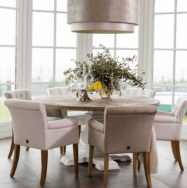 Crossroads Round Dining Table 160 Riviera Maison 224660