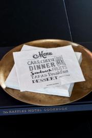 Paper Napkin Menu Riviera Maison 380260