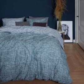 Riviera Maison dekbedovertrek Hamilton blue 140x200x220
