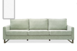 West Houston Sofa 3,5 seater, washed cotton, white Riviera Maison 3904005