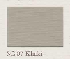 Painting the Past – SC07 Khaki Houtverf Eggshell 750 ml