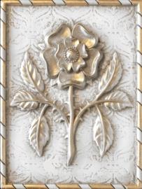 T499 Tudor Rose Sid Dickens Tile