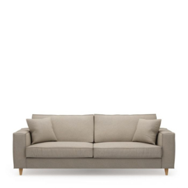 Kendall Sofa 3,5 Seater, oxford weave, anvers flax Riviera Maison 4345002