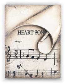 T422 Sid Dickens tegel Heart Song