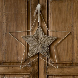 Rustic Rattan Star Door Decoration RM 457580