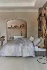 Riviera Maison dekbedovertrek Boho Dream Grey 140x 200/220!