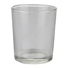 Glaasje voor geurkaarsje