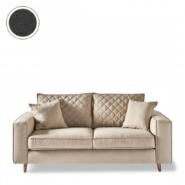 Kendall Sofa 2,5 Seater, oxford weave, classic charcoal Riviera Maison 4344006