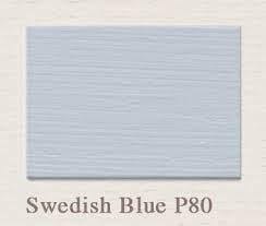 Painting the Past – P81 Swedish Blue Houtverf Matt 750 ml