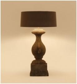 Salzano Tafellamp Tierlantijn bij Jolijt (exclusief kap)