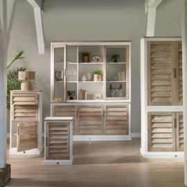Pacifica Bed Cabinet Left Riviera Maison 475680