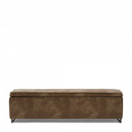 Club 48 Bench With Lid, pellini, coffee Riviera Maison 4683002