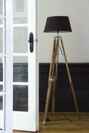 Classic Tripod Lamp teak large Riviera Maison 108250