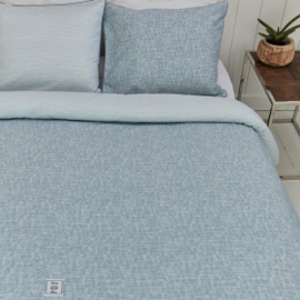 Riviera Maison dekbedovertrek Isle of Wight Duvet Cover blue 240x220 452950!