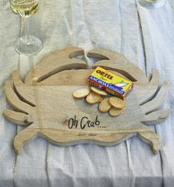 Classic Crab Chopping Board 405450