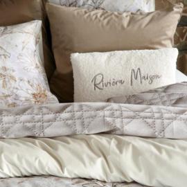 Riviera Maison kussen Teddy Box Pillow off-white 30x50