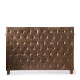 Union Square Headboard Double, pellini, coffee,Riviera Maison 3628006