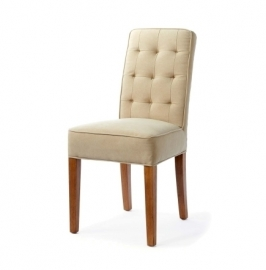 Madison Dining Chair washed cotton sand Riviera Maison 3761001
