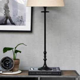 L'Hotel Lamp Base black L Riviera Maison 436810