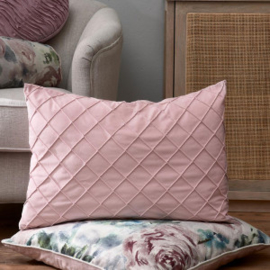 Classic Quilt Pillow Cover pink 65x45 Riviera Maison 445440