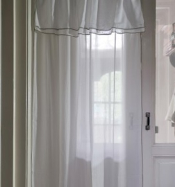 Fancy Frill Curtain white 140x270 Riviera Maison 374570