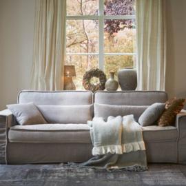 Metropolis Sofa 3,5 seater, washed cotton, stone Riviera Maison 3583003