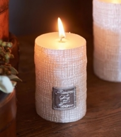 RM Linen Candle off white 7x10 Riviera Maison 312220