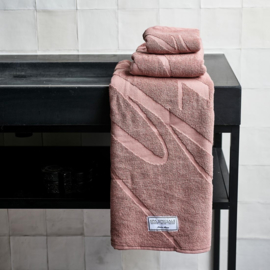 Spa Specials Bath Towel pink 140x70 Riviera Maison 451780.