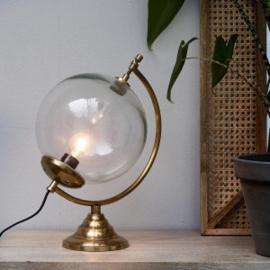 Globe Lamp gold Riviera Maison 450330